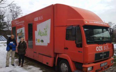 Wyjazd do Mękini – Bus OZE, odnawialne źródła energii i mobilne laboratorium POLoNEs