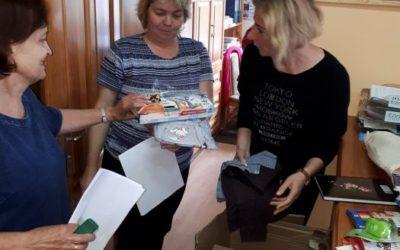 Dary dla dzieci z Sulęczyna dojechały!