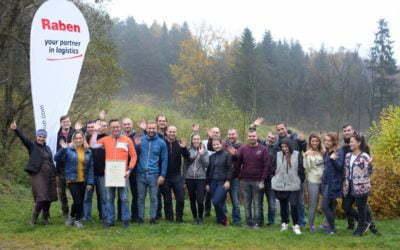 2000 drzewek w Beskidzie Niskim już rośnie! Wspólna akcja firmy Raben i Fundacji Aeris Futuro!