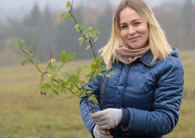 Grupa Raben - sadzenie w Krzywej (33)