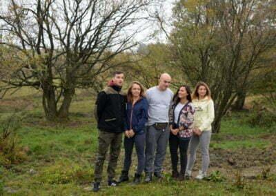 Grupa Raben - sadzenie w Krzywej (58)