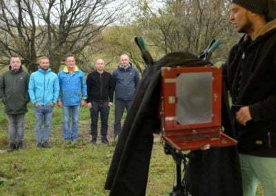 Grupa Raben - sadzenie w Krzywej (77)