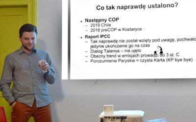 """Szczyt klimatyczny w Katowicach – """"COP 24 i co dalej? Kraków dla klimatu!"""""""