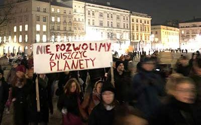 Pierwszy Earth Strike w Krakowie