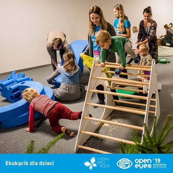 Dzieci mają głos na OPEN EYES ECONOMY SUMMIT '19