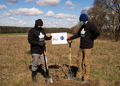 Posadziliśmy 3000 drzew z GS1 Polska w Wielkopolskim Parku Narodowym