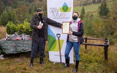 Sadzimy 500 drzew z ista Shared Services Polska